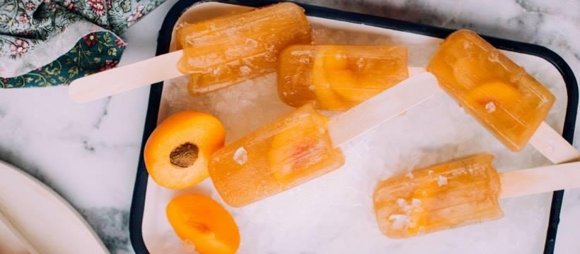 glaces aux abricots