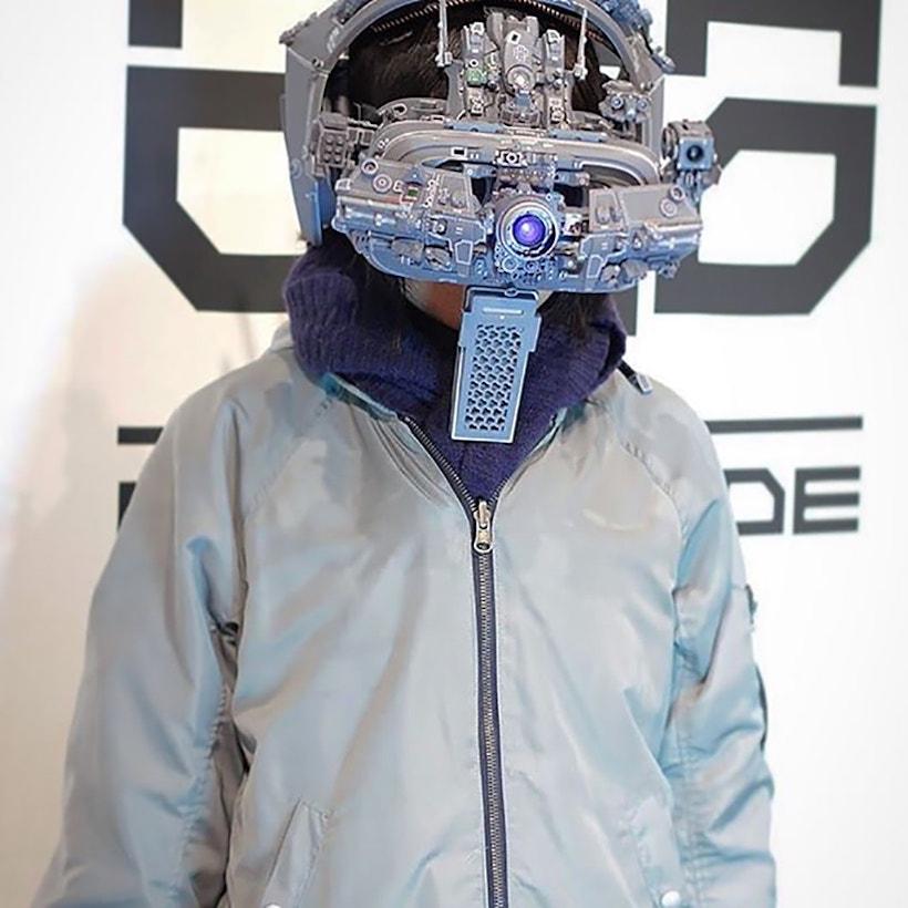 masque cyberpunk
