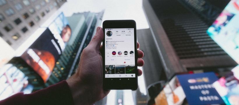 instagram smartphone
