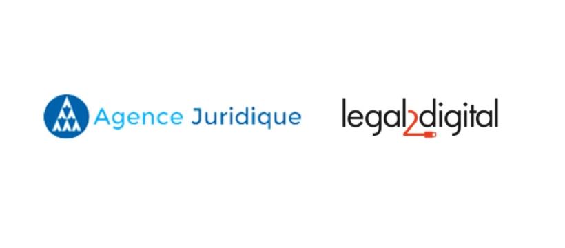 logo des startup legal2digital et agence juridique