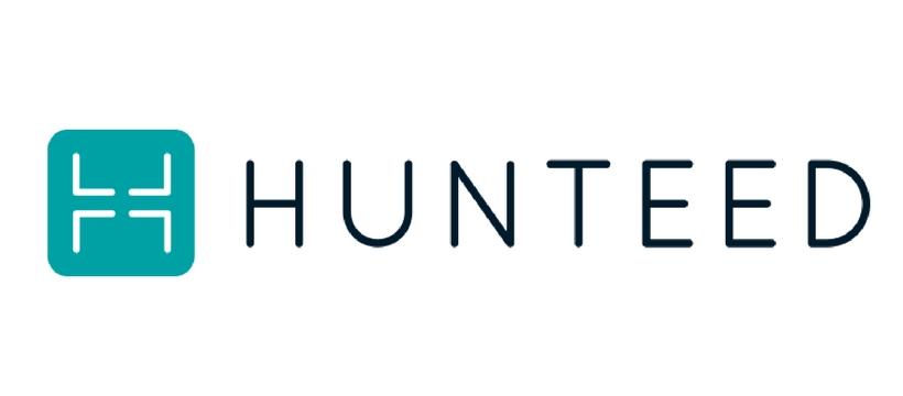 logo de la startup hunteed