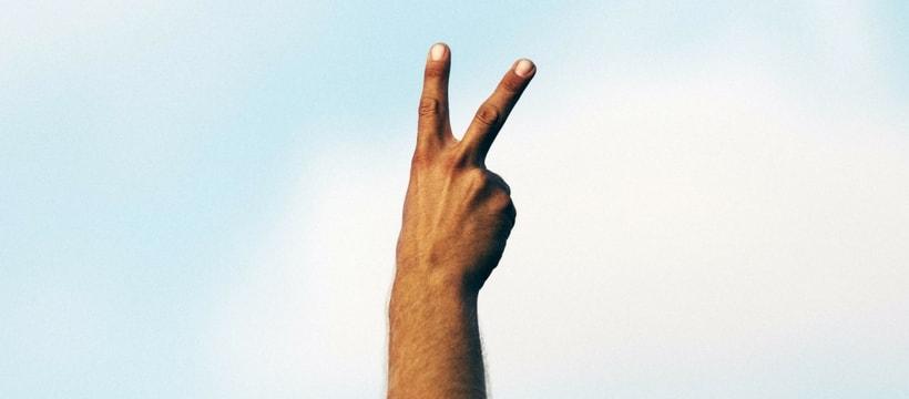 main en l'air
