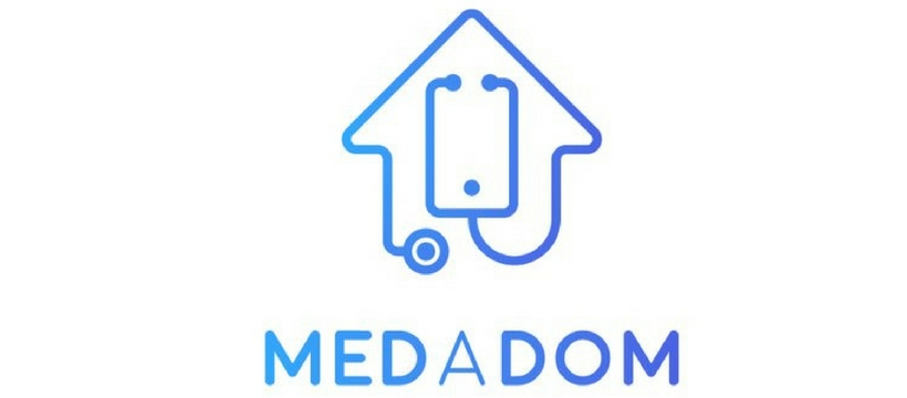 logo de la startup medadom