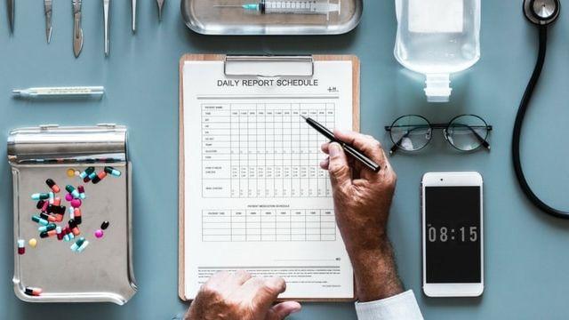 un test de médecine
