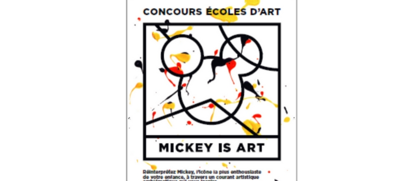 mickey is art