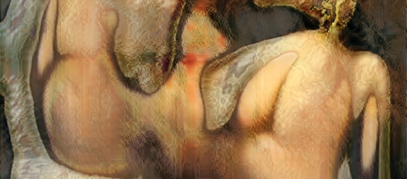 peinture générée via une IA