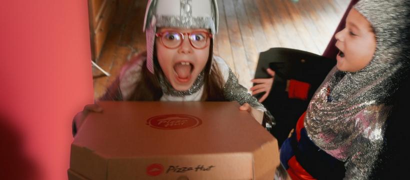 publicité pizza hut