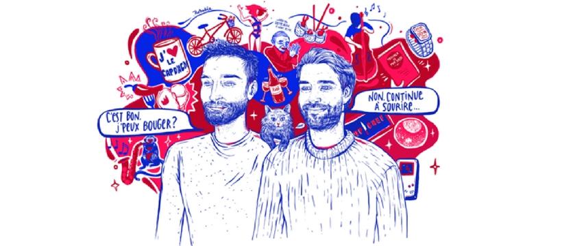 tiph et raph illustration