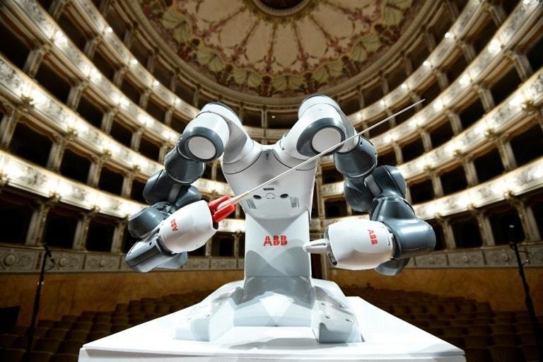 le robot yumi