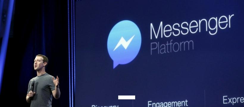 Mark Zuckerberg présente Messenger