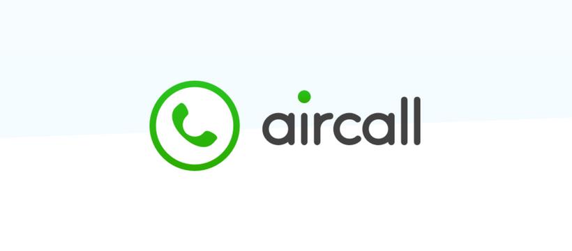 logo de la startup aircall