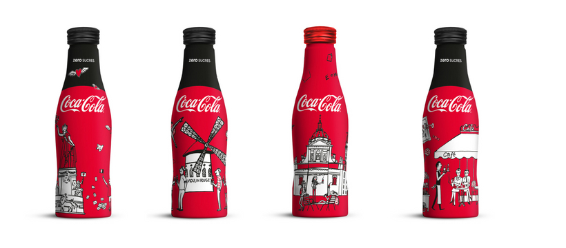 bouteille coca-cola et my little paris