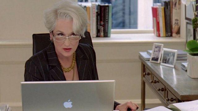 Meryl Streep, en Miranda Priestly dans Le Diable s'habille en Prada