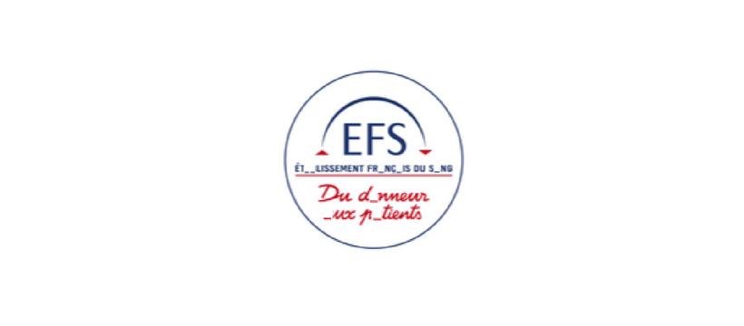 logo EFS avec lettres manquantes