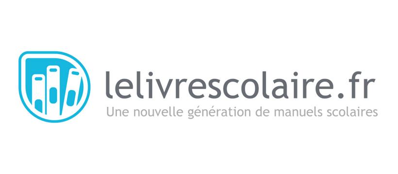 logo de la startup le livre scolaire