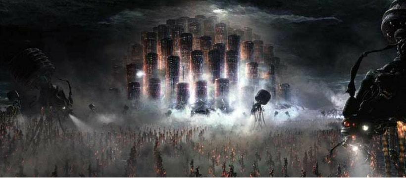 ville dans matrix