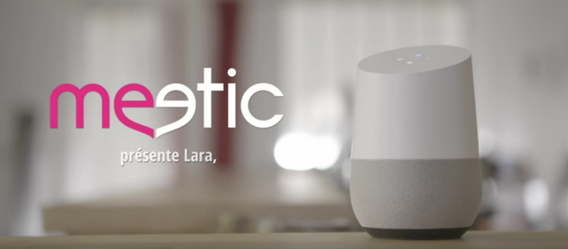 meetic et google home