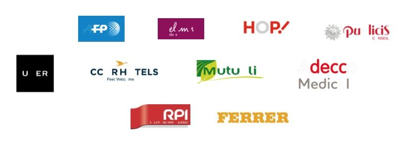 logo des marques avec lettres manquantes