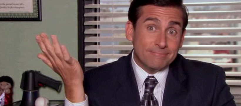 steve carell dans the office