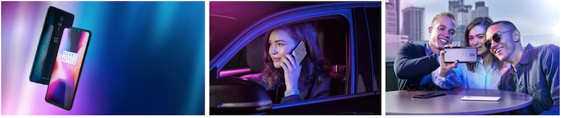 visuels promotionnels du OnePlus 6