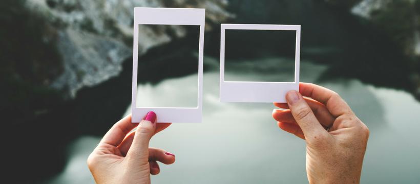 polaroids vides