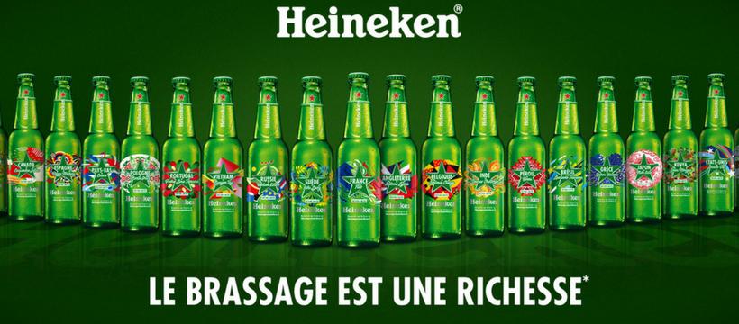 édition limitée 2018 Heineken