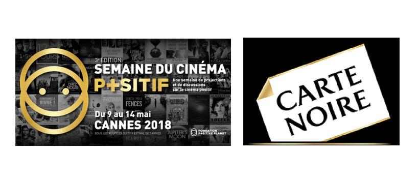 logos carte noire et semaine du cinema positif