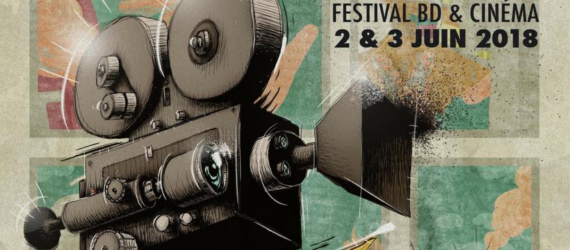 affiche du festival BD6Né