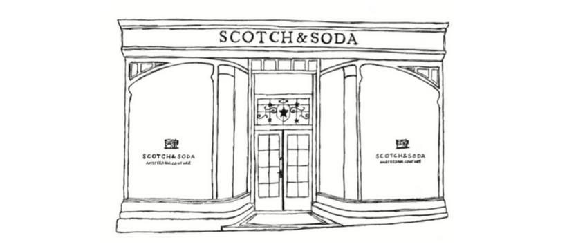 scotch et soda visuel