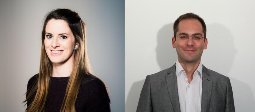 Mathieu Goumain et Suzanne Niemeyer