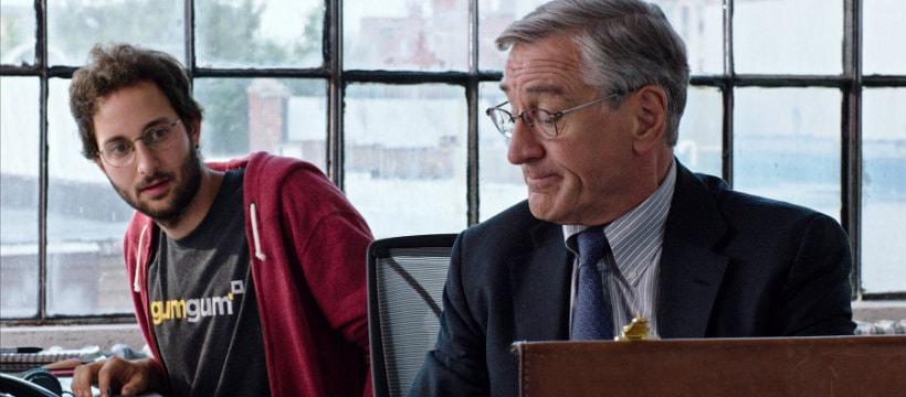 Robert de Niro, dans le film The Intern
