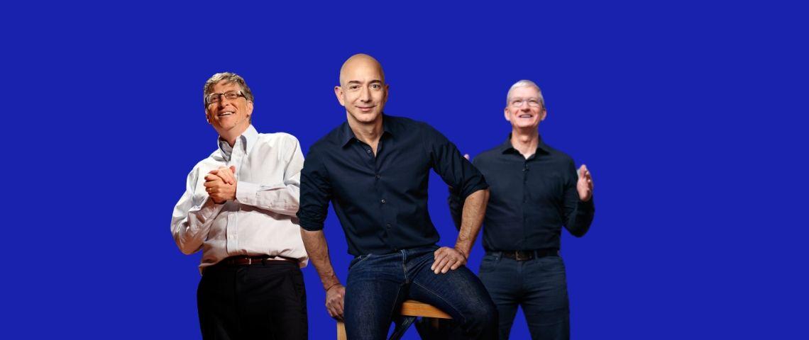 Le top 100 des plus grosses entreprises du monde