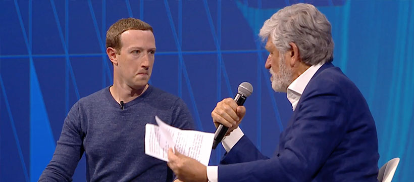 Mark Zuckerberg à Viva Technology 2018