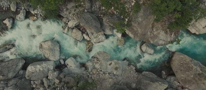 rivière des balkans