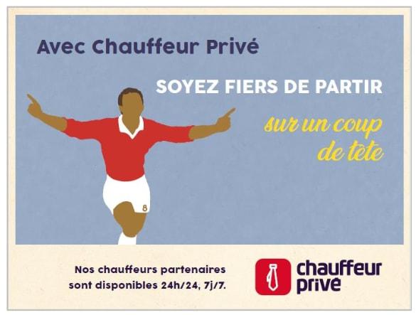 chauffeur privé affiche