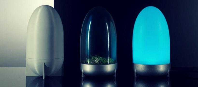 lampes futuristes