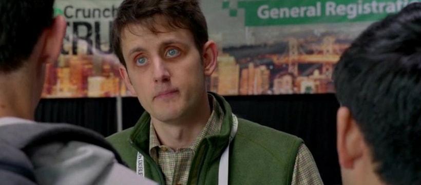 Jared, dans la série Silicon Valley, après plusieurs nuits sans dormir