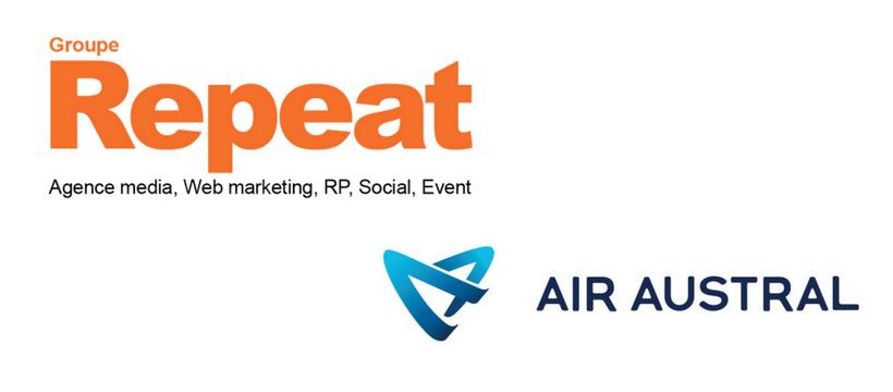 logo repeat et air austral