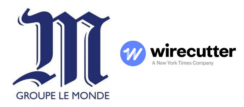 le monde wirecutter logos
