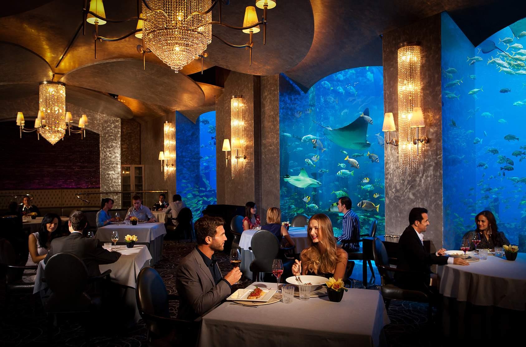 Le Restaurant Ossiano à Dubaï