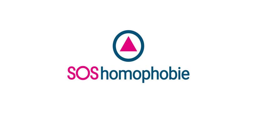 sos homophobie logo