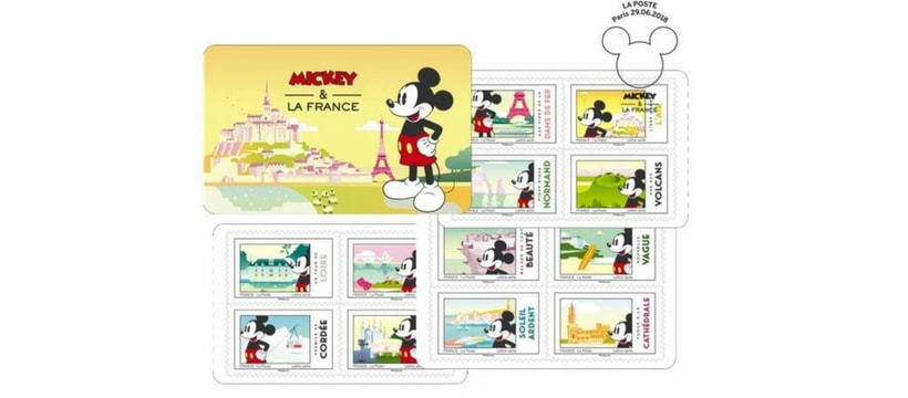 timbres mickey
