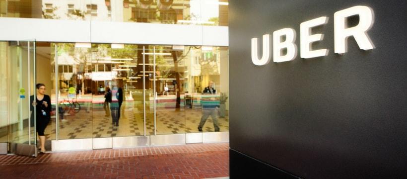 Le siège social d'Uber, en Californie