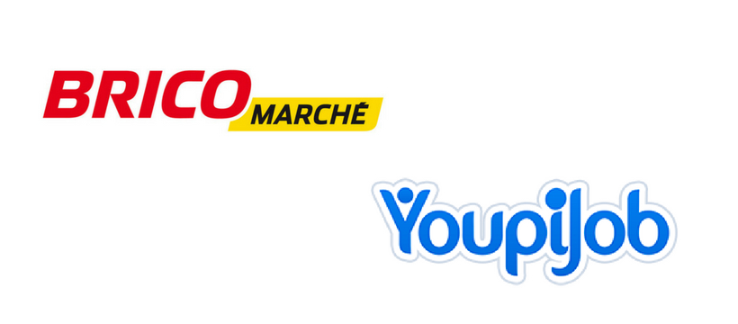 logos youpijob et bricomarché