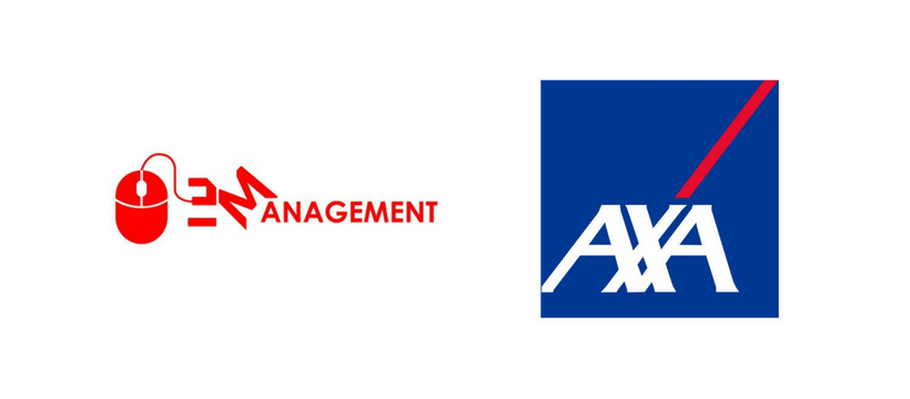 logos axa et esport management