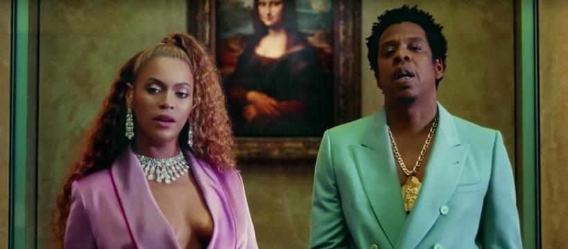 Beyonce et Jay-Z au Louvre