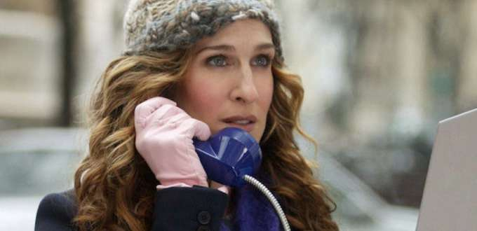 Carrie Bradshaw dans la série Sex in the City