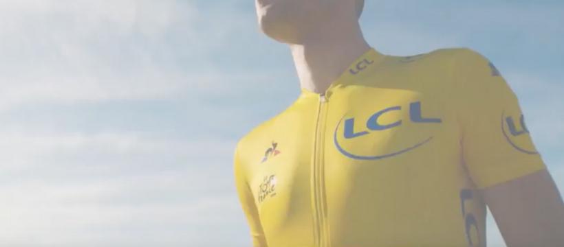 maillot jaune LCL