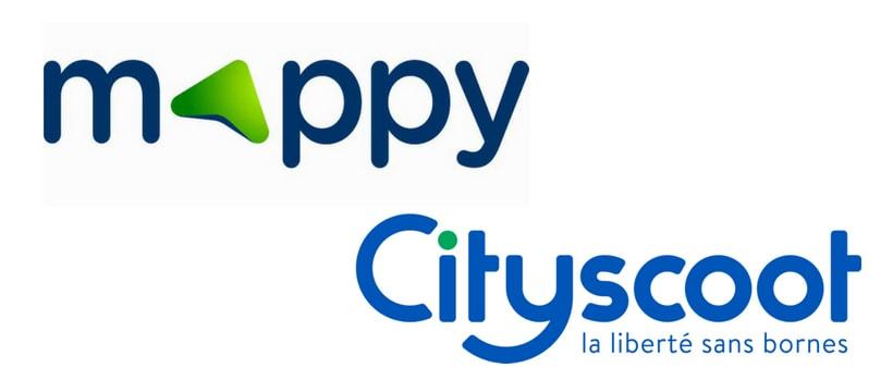 logos mappy et city scoot