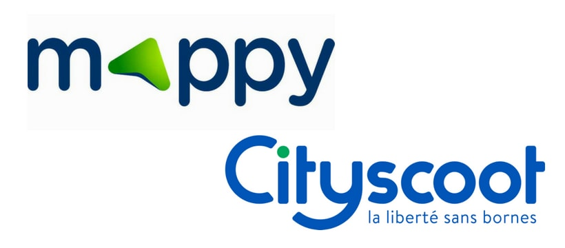 logos mappy et city scoot